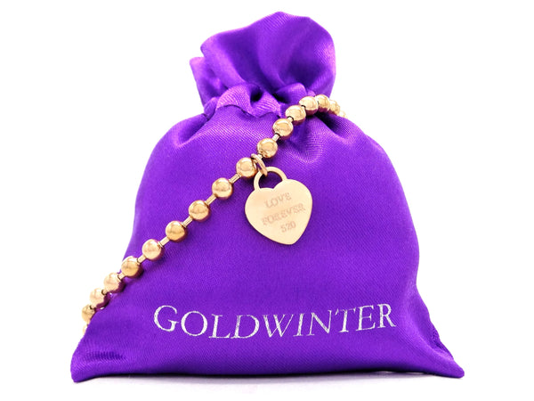 Rose gold love forever 520 bracelet GIFT BAG