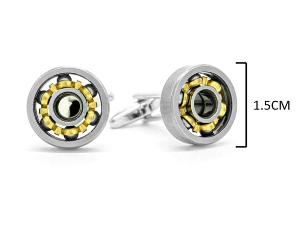 Stainless steel car engine cufflinks MEASUREMENT