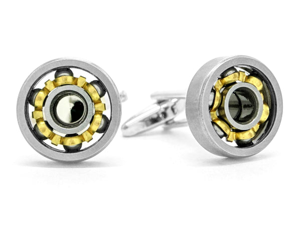 Stainless steel car engine cufflinks MAIN