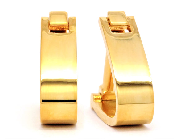 Yellow Gold Timeless Cufflinks