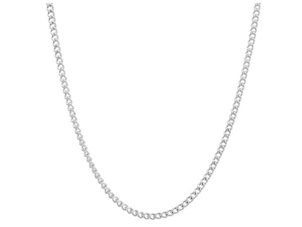 Sterling silver thin chain necklace MAIN