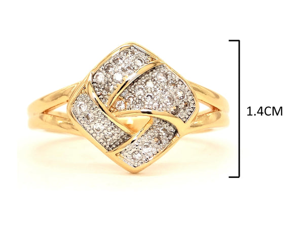 Gold prestige ring MEASUREMENT