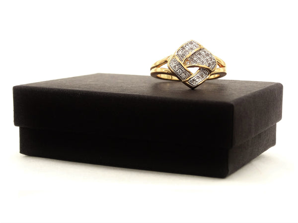 Gold prestige ring GIFT BOX