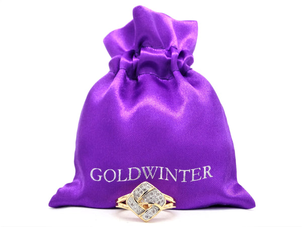 Gold prestige ring GIFT BAG