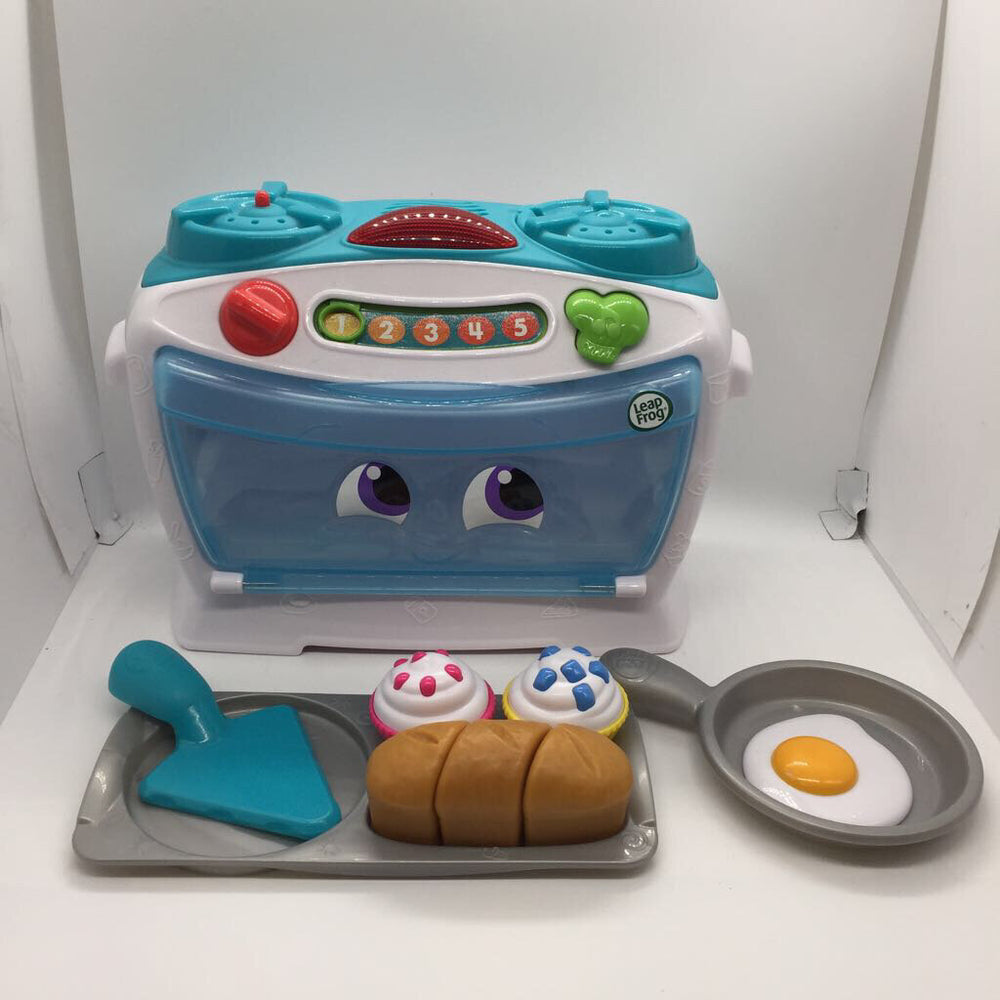TESTED NEEDS 3 AAA Batteries Leap Frog Toy Oven W/ Accessories