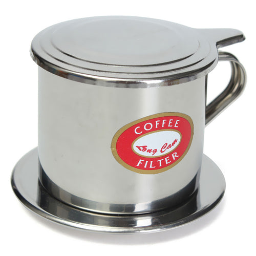 Portable Stainless Steel Coffee Drip Filter