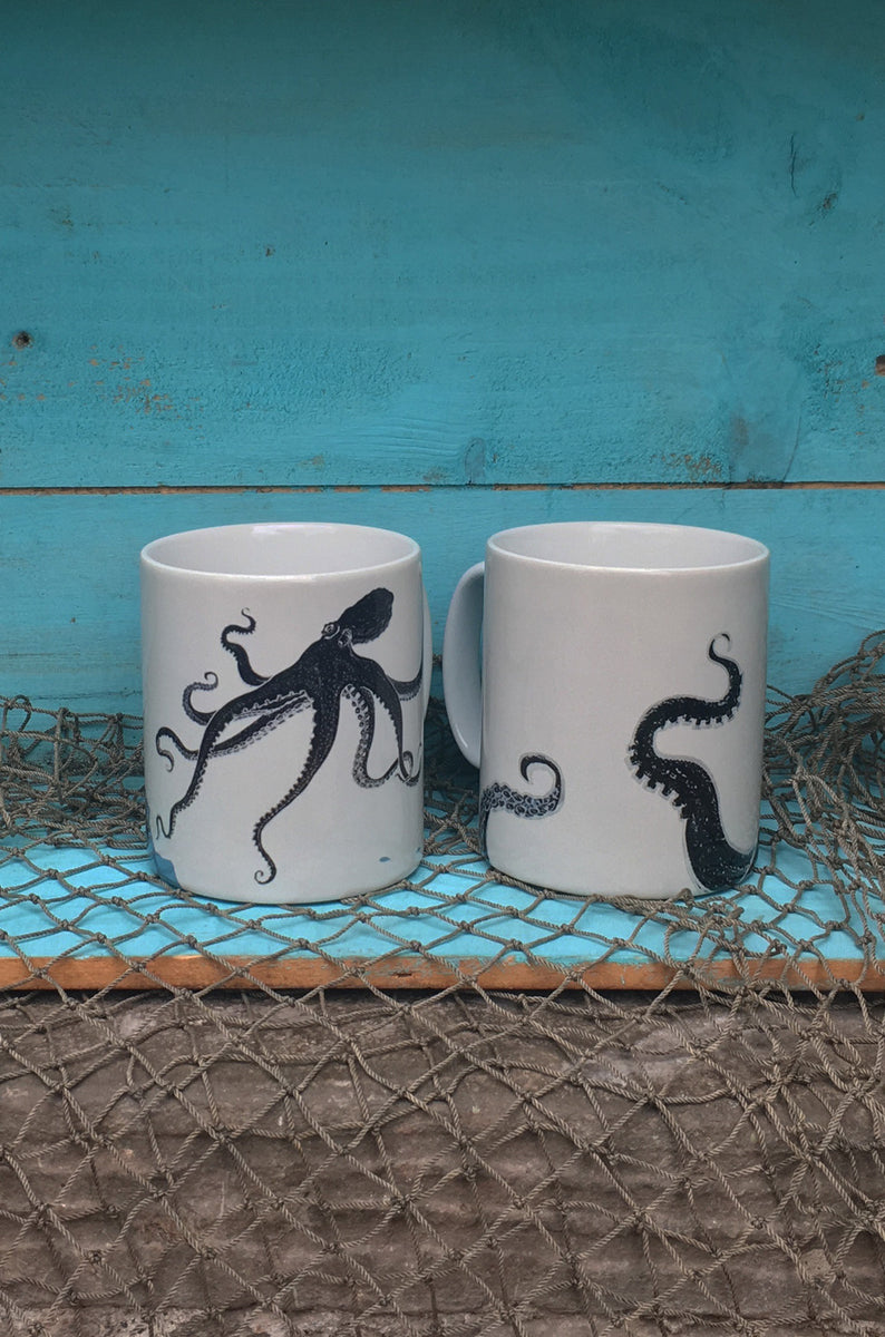 Octopus Ceramic Mugs