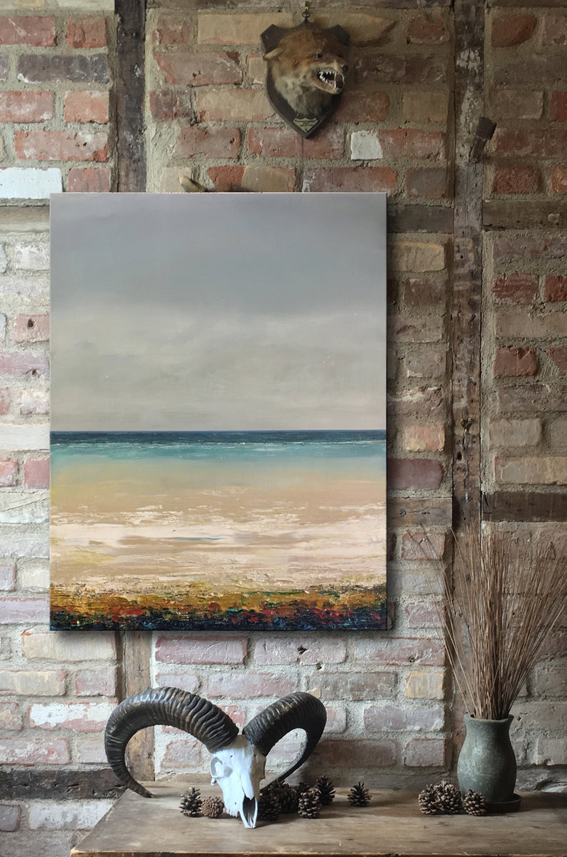 Seascapes Paintings - Acrylic