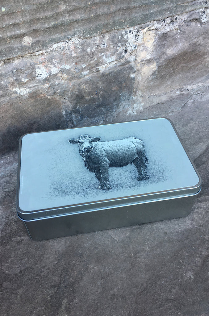 Charolais Storage Tin
