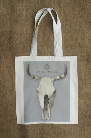 Cow Skull Shopping Bag