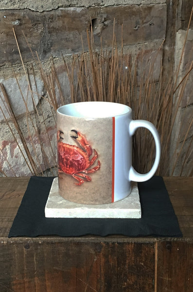 Edible Crab Ceramic Mug