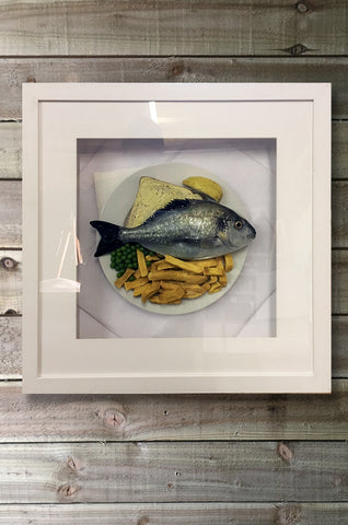 Fish & Chips Boxed Art Display