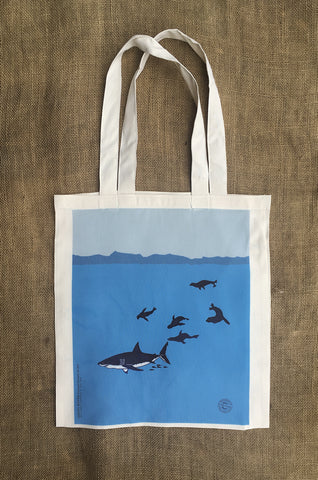 Great White Shark Shopping Bag