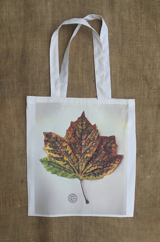 London Plane Leaf Shopping Bag