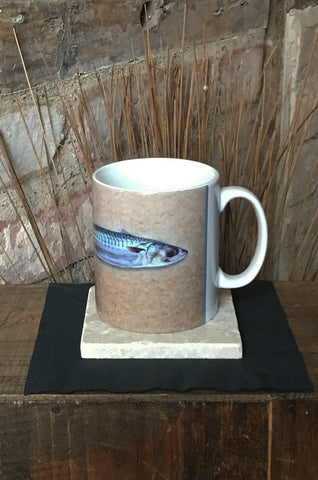 Mackerel Ceramic Mug