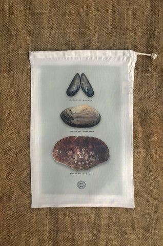 Shells Drawstring Bag
