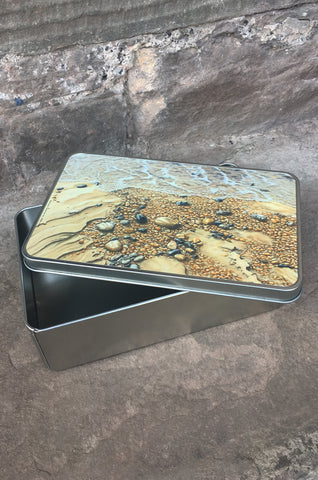 Shoreline Beach Storage Tin