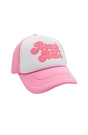 Feather 4 Arrow Beach Babe Youth Hat- Pink