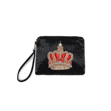 "Smithsonian ""Balmoral"" Beaded Clutch - Black"