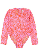 Feather 4 Arrow Wave Chaser Surf Suit LS- Coral Crush
