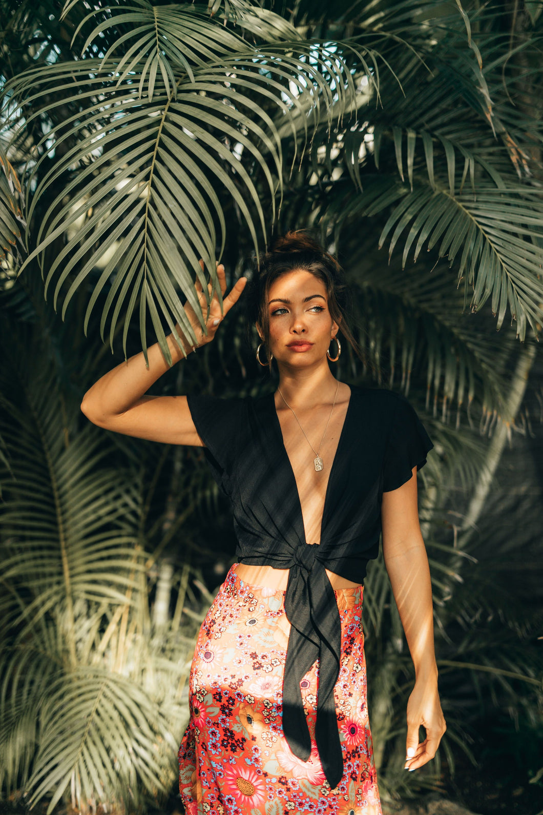 XIX Palms Pompeii Knot Top