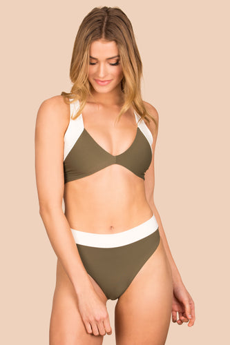 Kya Swim Isla Reversible Bottom (Palm / Shell)