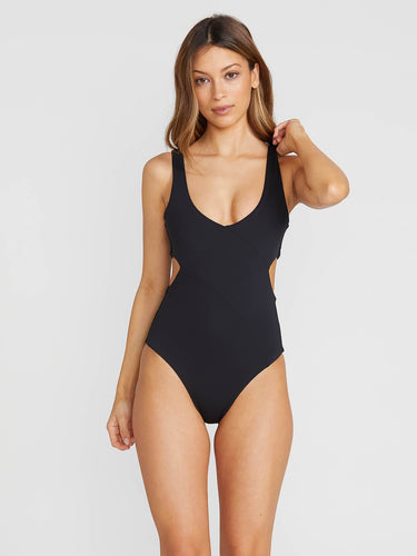 Volcom Simply Seamless One Piece - Black
