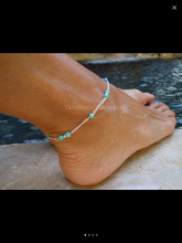 Diana Anklet (Silver)