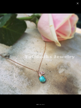 Good Vibes Turquoise Necklace (Gold)