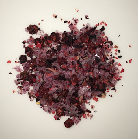 Pink Peppercorn & Hibiscus Salt