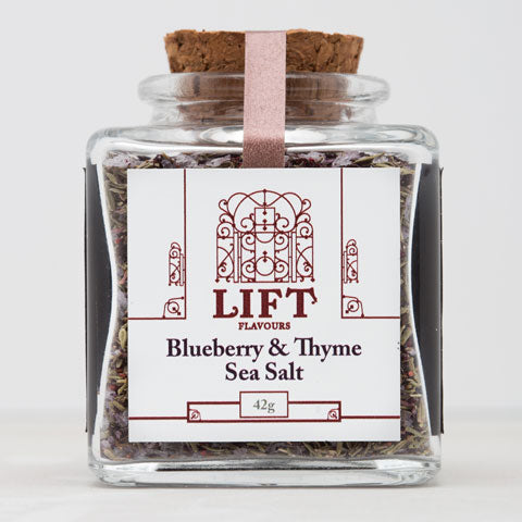 Blueberry & Thyme Sea Salt - Lift Flavours