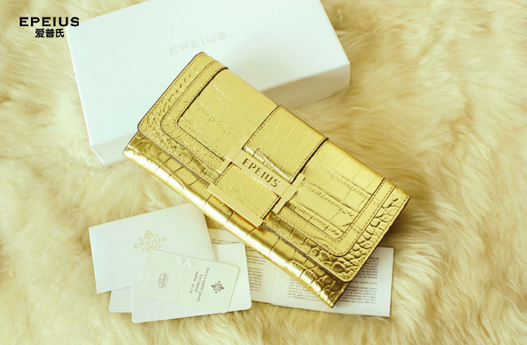 Elegant Genuine Leather Lady Wallet