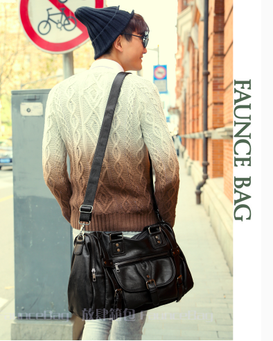Trendy Street Fashion Men's Bag