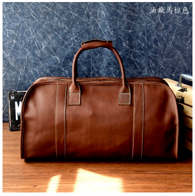 Genuine Leather Holiday Bag