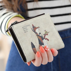 Pictorial Lady Wallet