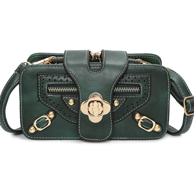 Sleek Lady's Crossbody Bag