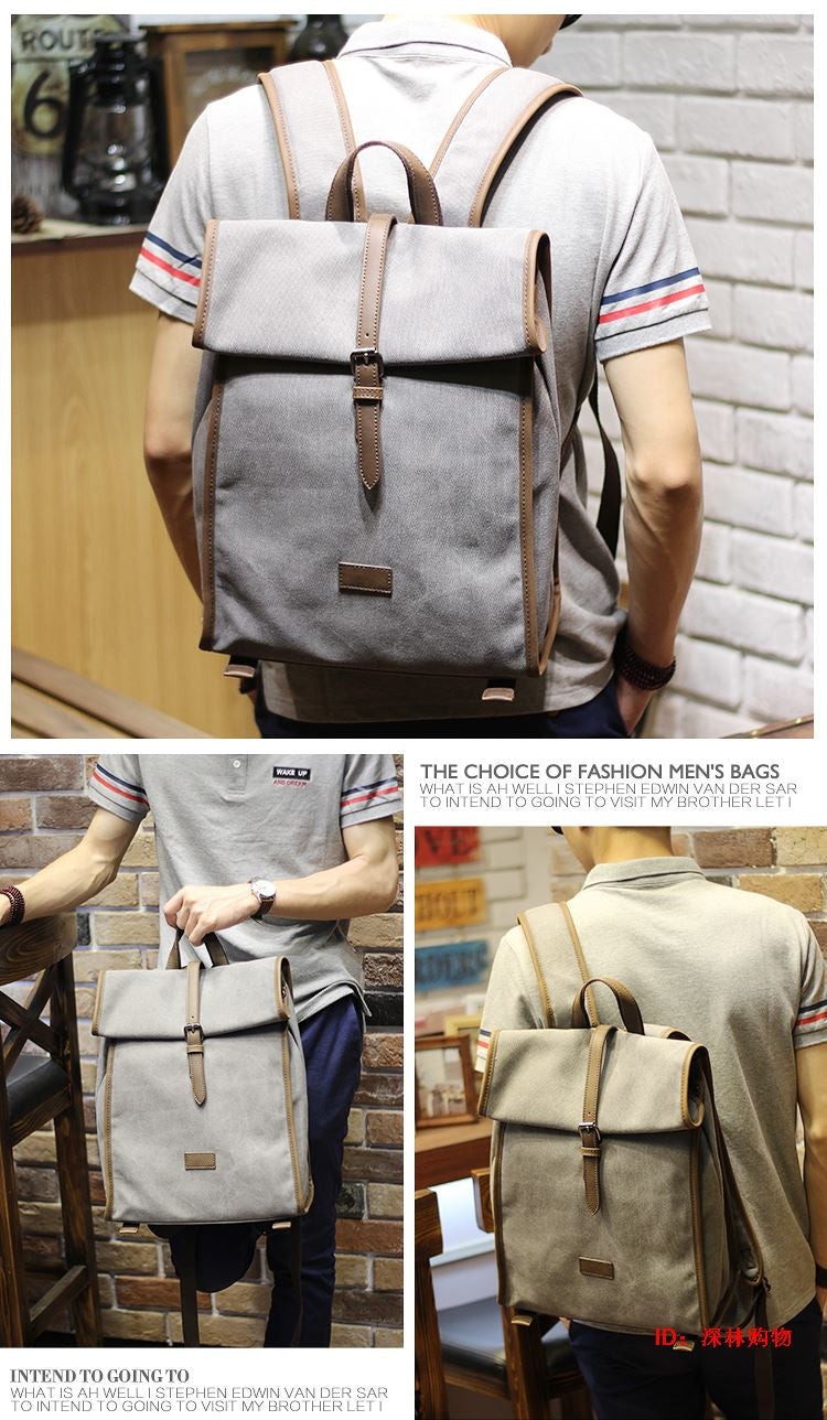 Stylish Canvas Backpack