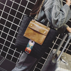 Trendy Tote (Genuine Leather)
