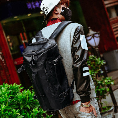 Funky Black Backpack