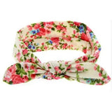 Bowknot Headband Flowers