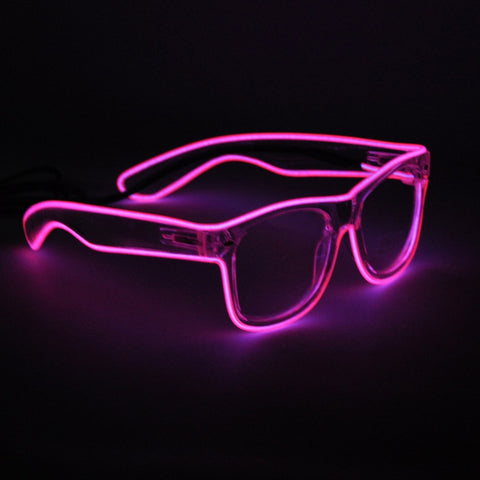 """Light Of The Party"" glasses"