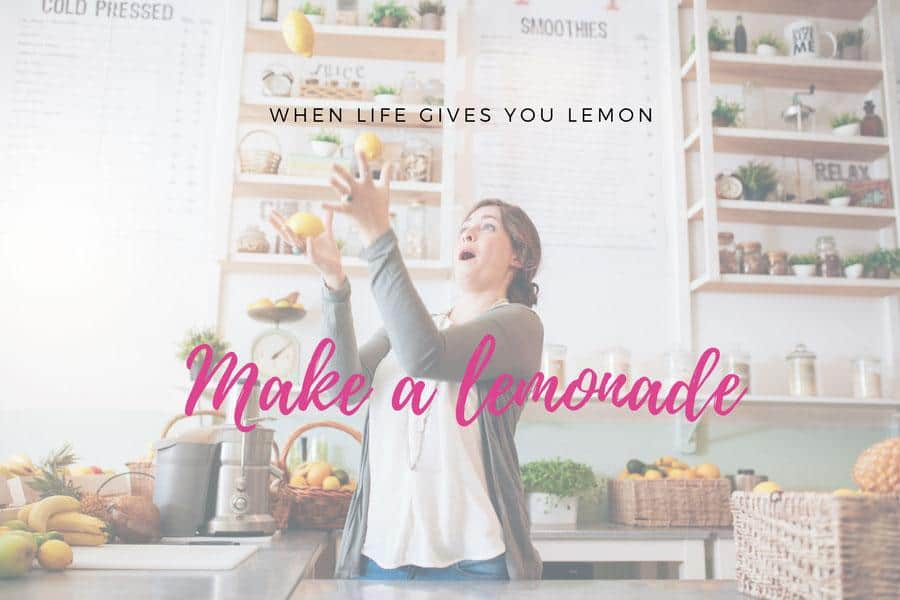 Product of the month when life gives you lemons, make lemonade