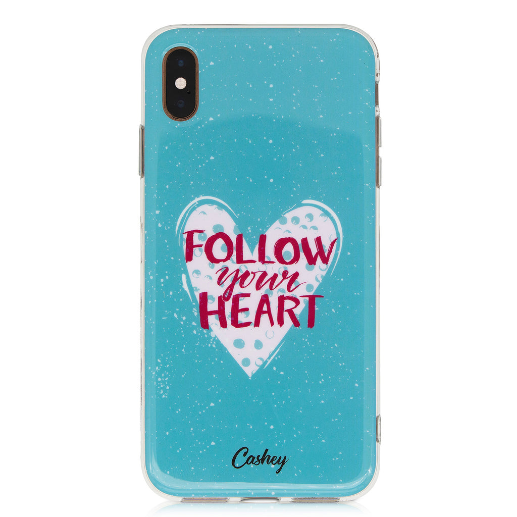 Cashey Follow Your Heart iPhone Case