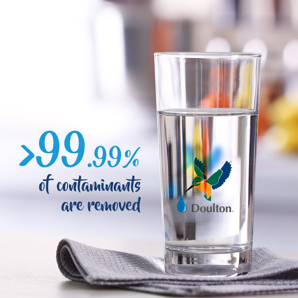 Doulton Water Filters! Good Water Comes Naturally, Everyday!
