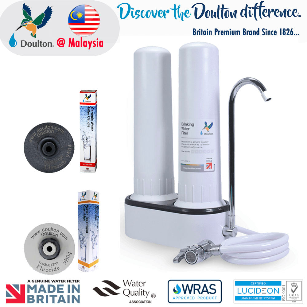 Unboxing: Doulton HCP-Double UCC 9504+ Fluoride Reduction ON-Counter Drinking Water Purifier
