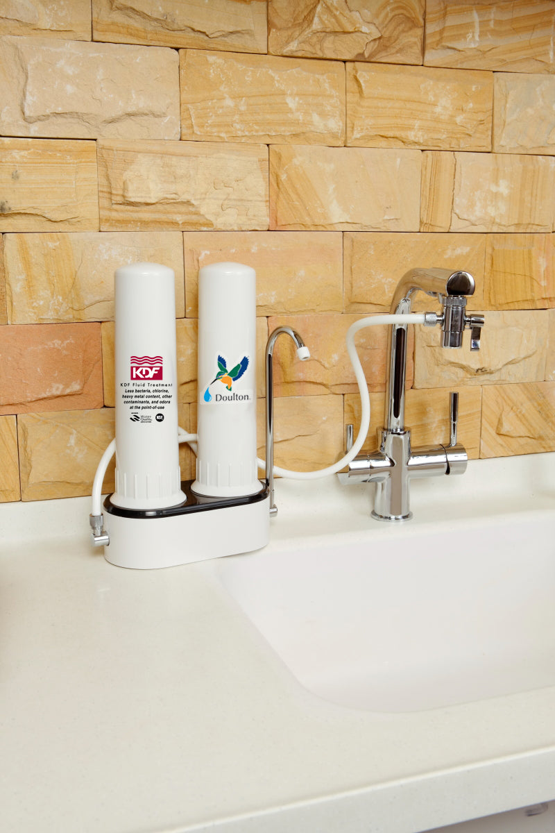 unboxing: Doulton TCP6 KDF + BTU 6 layers filtration system counter top