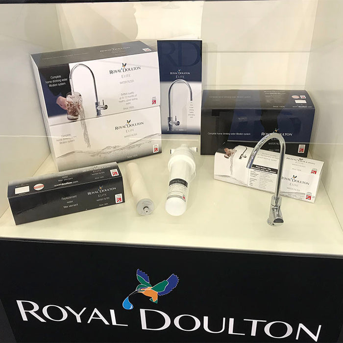 Royal Doulton Elite installation guide water filters system under-counter