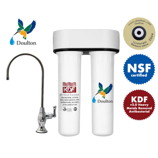 Doulton HIP2 KDF+ Biotect Ultra healthy direct drinking water system[under counter]