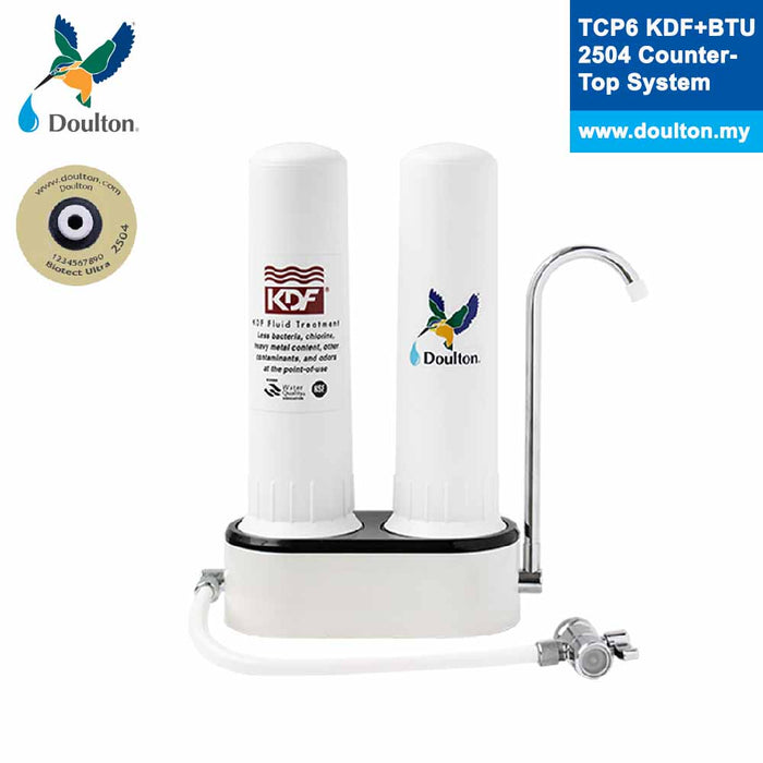 Doulton TCP6 KDF + Biotect Ultra Natural, Healthy, Finest Great Tasting Drinking Water System