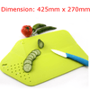 2-in-1 Foldable Cutting Board w/ Colander (Recommended Kitchen Appliance)